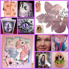Next we have the lovely Lilith from Lots of different beautiful art and crafts items in this shop! An absolutely… Next Us, Craft Items, Lush, Arts And Crafts, Create, Day, Artist, Shop, Beautiful