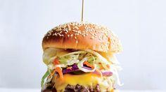 Bobby's Crunch Burger | Bon Appetit Recipe