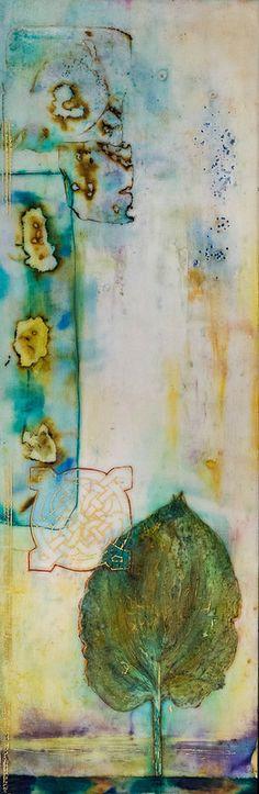 """""""Well Preserved"""" - Encaustic by Linda Virio"""