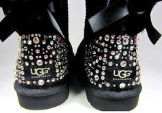 Adorable crystal encrusted UGGS