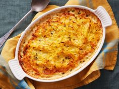 Spaghetti Squash and Potato Gratin : This recipe takes creamy potato gratin to a new level. By pairing it with spaghetti squash, you're adding amazing texture and great flavor to this traditional dish