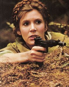 Carrie Fisher - The Lovely & Lethal Princess Leia Star Wars Cast, Leia Star Wars, Star Wars Quotes, Star Wars Humor, Saga, Star Wars Episode 6, Princesa Leia, Han And Leia, Star Wars Celebration