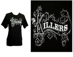 The Killers run for the hills before burn tour t shirt Black Band Festival Music Tour T Shirts, Band, Music, Mens Tops, Women, Fashion, Musica, Moda, Sash