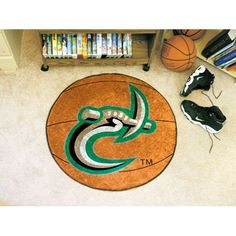 North Carolina Charlotte 49ers NCAA Basketball Round Floor Mat (29)