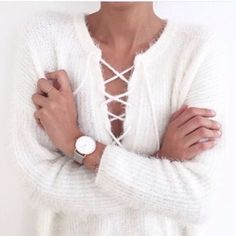 Sweater goals.  // Follow @ShopStyle on Instagram for more inspo.