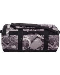755ad05d178 The North Face Base Camp Duffel Grey Large Shoulder Travel Bag