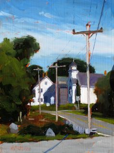 one summer afternoon 6x8 - Dan Graziano  www.dangrazianofineart.com