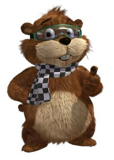 His name is Digger, he is a gopher, and he is NASCAR's mascot! 🙂 His name is Digger, he is a gopher, and he is NASCAR's mascot! Nascar Sprint Cup, Nascar Racing, Jeff Gordon Nascar, Brad Keselowski, Joey Logano, Kevin Harvick, Kyle Busch, Daytona 500, Just A Game