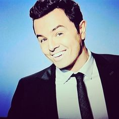 Seth MacFarlane..cute and funny is a deadly combo