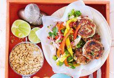 Fischlaibchen mit Mangosalat