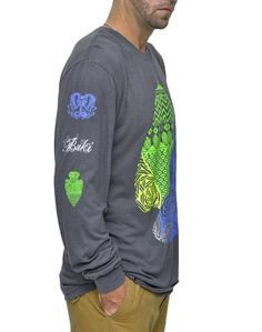 Our Best Selling Long Sleeve Bamboo Tshirt with Arrowhead Print Now through Sunday you can get this Shirt for $24 Delivered.  Offer ends Sunday September 11th...