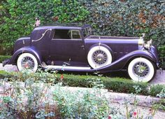 Cars 1933 Hispano Suiza V 12 Coupe DeVille Body By Binder W Removeable Hardtop Dark Grey Svr Retro Cars, Vintage Cars, Antique Cars, American Graffiti, Enjoy The Ride, Hispano Suiza, Car Wallpapers, Automotive Design, Amazing Cars