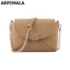 3cfe98a7a42a ARPIMALA 2017 Women Messenger Bags Famous Brand Chain Handbag Luxury  Crossbody Bag for Women Nubuck Leather