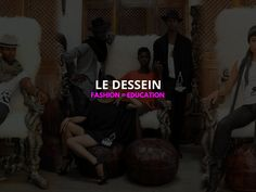 There are currently 65 million girls out of school worldwide. Through the creation of eco-friendly fashion, Le Dessein is decided to addressing this important issue. The process starts with getting young girls to develop art and sketches which Le Dessein then features on their fashion. Le Dessein then contribute 25% of the proceeds to fund yearly school tuition for girls in Liberia.