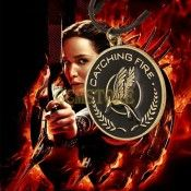 The Movie Hunger Games Mockingjay Vintage Bronze Pendants Necklaces For Womens Mens