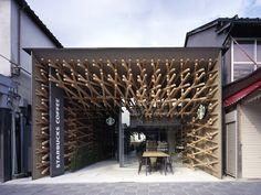 Starbucks Concept Store by Kengo Kuma, Fukuoka - Japan