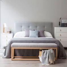 Buenos días! Empezamos semana http://kenayhome.com/8211-dixon-cabecero-tapizado.html