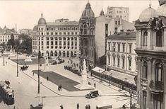 B-dul Academiei Bucuresti Bucharest Romania little Paris micul paris Little Paris, Vintage Architecture, Bucharest Romania, Time Travel, Nice, Old World, Simple, Futuristic, Louvre