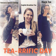 #nationalteaday  The girls are having a tea-rrific day and wanted to celebrate by sharing their favorite flavor.   Share with us your favorite kind of tea in the comments below!