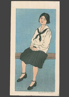 School Girl, Elizabeth Keith