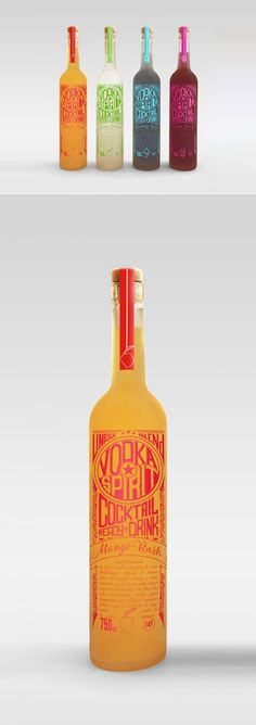 Vodka Spirit Packagi
