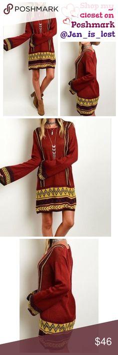 Spotted while shopping on Poshmark: 🚨25% OFF BUNDLES🚨 Boho Sweater Dress! #poshmark #fashion #shopping #style #Dresses & Skirts