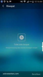 UC Browser : Cara Menghapus Riwayat Di UC Browser Terbaru dan Termudah