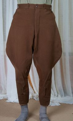Vintage French Jodhpur Pants Riding Breeches Equestrian
