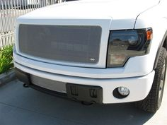 Grillcraft FOR1313S Ford F-150 Silver MX Grille Upper Insert #Grillcraft #ChromeTrim