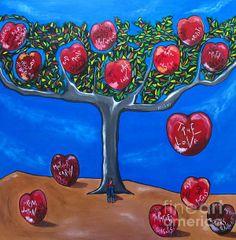 00d74ebe90b1 Title  The Tree Of Life Artist  Sandra Marie Adams Medium  Painting -  Acrylic