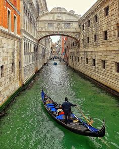 """Around the world with me - Venice - Italy * 📸 By Claudio Bezerra  *************** The Iconic Bridge of Sighs & The Gondola - """"La Serenissima"""" is the most unique and special city on Earth in my humble opinion."""
