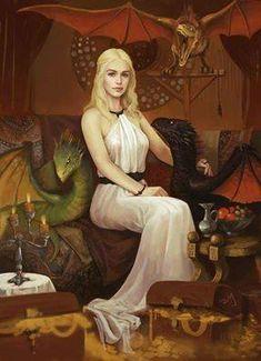 Mother of Dragons by Zhao Yang. Daenerys Targaryen