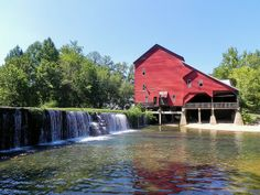 Rockbridge Mill. One of my favorite places to eat dinner after coming on the Scenic Glade Top Trail.