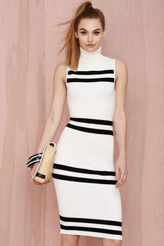 Nasty Gal Turtleneck Dress