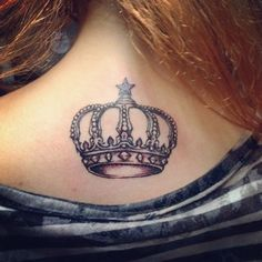 55 Best King And Queen Crown Tattoo Designs & Meaning Check more at http://tattoo-journal.com/35-magestic-crown-tattoos/
