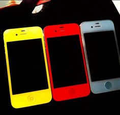 Colored iphones