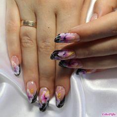 #маникюр, #маникюрлето2016, #дизайн_ногтей, #Цветочный_маникюр, #весенний_маникюр, #ногти_с_цветами