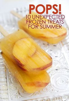 10 Unexpected Frozen Treats for Summer