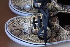 vans-authentic-snake-or #vans #zalando #snake