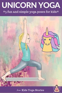 Unicorn Yoga: Books and Yoga Poses for Kids (Printable Poster) 5 Unicorn Yoga Poses for Kids Pretend to be a unicorn through yoga for kids poses. Your kids can take an imaginary journey to a magical unicorn world through movement. Yoga Poses For Men, Easy Yoga Poses, Kid Poses, Yoga Poses For Beginners, Yoga For Men, Pranayama, Yoga Inspiration, Asana, Yoga Games