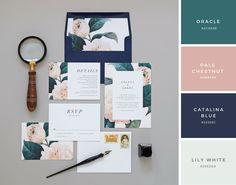 25 Perfect Wedding Color Combinations – Design School