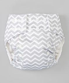 There are many reasons to use cloth diapers, such as the environmental benefits, the financial savings and the health advantages of chemical-free fabric. Plus, this triple-layered cloth diaper is both adorable and functional! It features a leak-proof exterior, two rows of adjustable snaps and an overlapping waist tab that caters to a wide range of sizes. The included microfiber insert makes for a quick and easy cleanup. <...