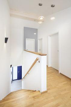 Elegant Treppenhaus Einfamilienhaus Schneider von Baufritz