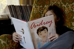 kids' book about audrey hepburn with amazing illustrations!