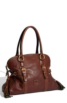 Dooney & Bourke domed buckle satchel