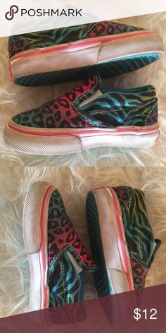 Vans Leopard Vans super cute colors vguc Size 5 Shoes Baby & Walker