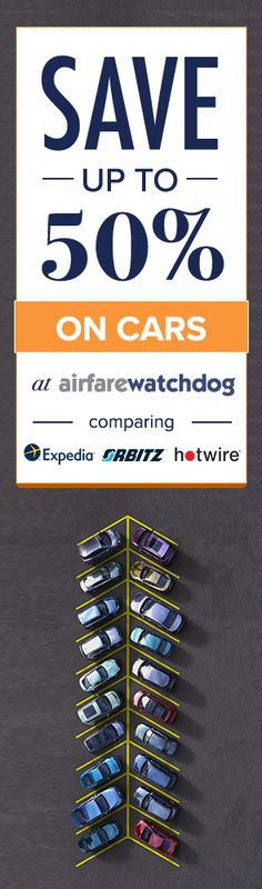 You Can Actually Find the Cheapest Car Rentals Ever.  Airfarewatchdog helps you save money when you book your next rental - so you always get the best deal.