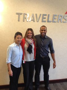 Annpatrice Todorovic and Geoffrey Allen at Travelers Insurance