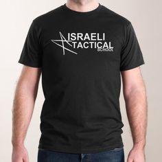 Men - Short Sleve T-Shirt Israeli Tactical School Surfboard, School, Tees, Sleeves, 2017 Summer, Mens Tops, T Shirt, Spun Cotton, Israel