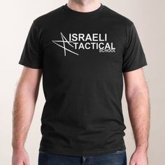 Men - Short Sleve T-Shirt Israeli Tactical School